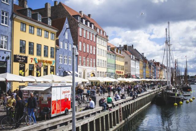 Tohle místo najdete jako první obrázek při vyhledávání Kodaně.