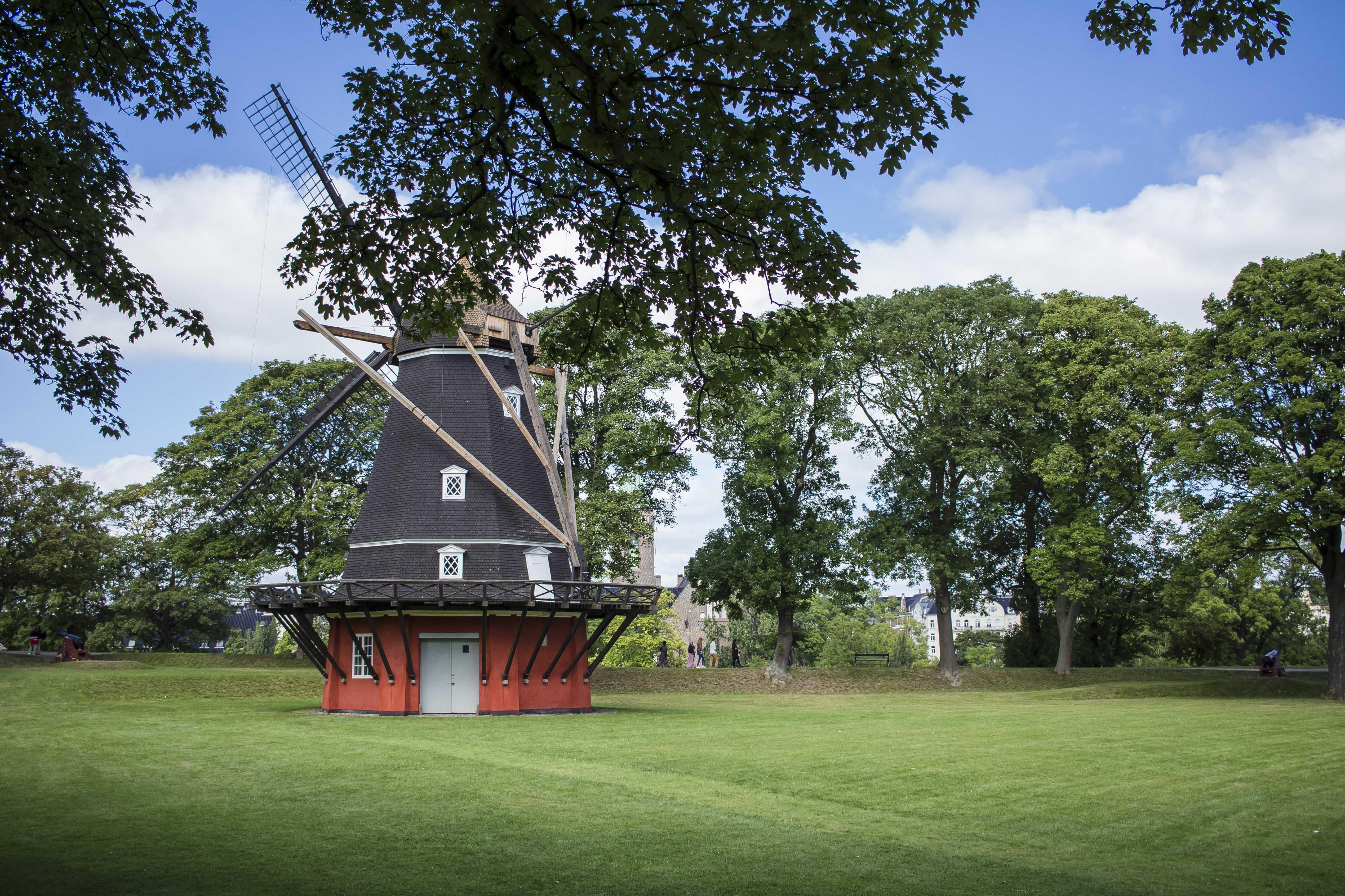 I v Kodani najdete mlýny jako v Holandsku