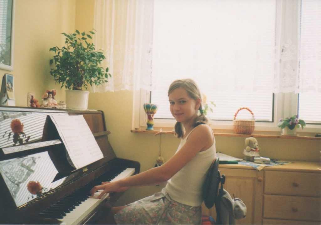 Na piano