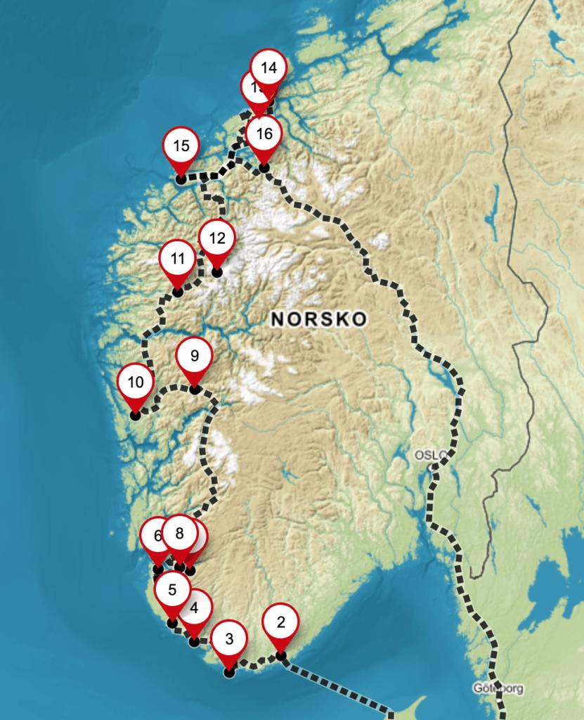 Naše cesta na sever