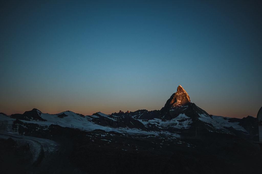 Jedna noc mezi švýcarskými čtyřtisícovkami